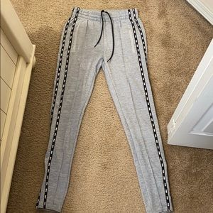 Grey Pink joggers